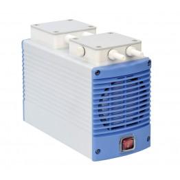 Chemker 400 Model Vakum Pompası, Kimyasala Dayanıklı, Kapasite 33 Lt, 670 mmHg (89.3 kPa),  220V/50 Hz