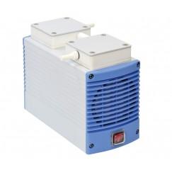 Chemker 410 Model Vakum Pompası, Kimyasala Dayanıklı, Kapasite 18 Lt, 750 mmHg (99 kPa),  220V/50 Hz
