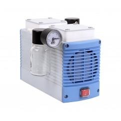 Chemker 411 Model Vakum Pompası, Kimyasala Dayanıklı Diyaframlı, Kapasite 18 Lt, 750 mmHg (99 kPa), 220V/50 Hz